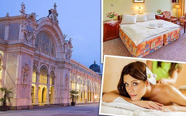 4 nebo 6 dnů pro dva s luxusním wellness v hotelu Kossuth*** v Mariánských Lázních