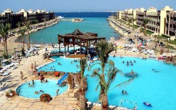 Egypt, oblast Hurghada, all Inclusive, ubytování v 4* hotelu na 8 dní. Garance kvality Invia.cz