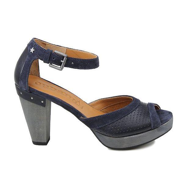 Dámské tmavě modré sandálky Cubanas Shoes