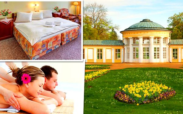 4 nebo 6 dnů wellness pro 2 v hotelu Romania*** v Mariánských Lázních