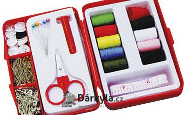 Sada šicích jehel, které navlečete za 1 vteřinu a souprava na šití