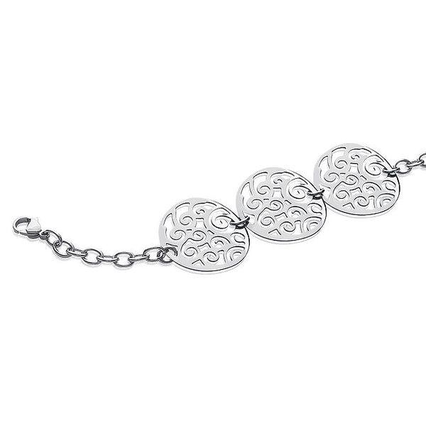 Dámský stříbrný náramek s filigránovými kruhy La Mimossa