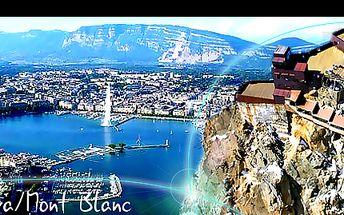 Poznávací ZÁJEZD s úchvatnou VYHLÍDKOU NA MONT BLANC a alpské ledovce + NÁVŠTĚVA ŽENEVY, se slevou 39 %: Adrenalinový výjezd lanovkou na Aiguille du Midi, slavný ženevský vodotrysk na jezeře a mnohem více. V ceně služby průvodce a doprava!