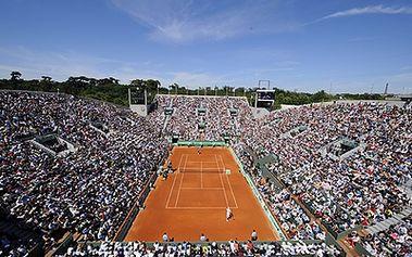 3.990 Kč za zájezd do Paříže na tenisový turnaj ROLAND GARROS 30.5 - 2.6.2014 včetně ubytování, vstupenky a prohlídky Paříže