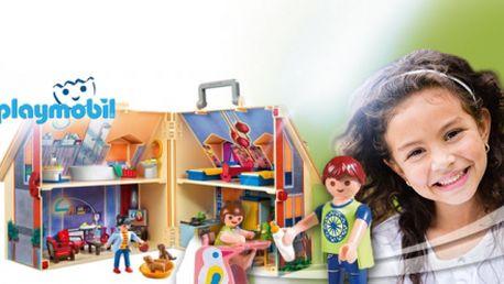 Krásný domeček pro panenky PLAYMOBIL! Překvapení pro každou malou princeznu za 650 Kč! Kvalitní hračka vyrobená v ČR! Možnost osobního odběru v Brně ZDARMA!