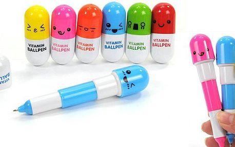 Netradičné veľmi skladné pero v tvare tabletky Vám umožní mať ju kdekoľvek a kedykoľvek a v štýlovom dizajne!