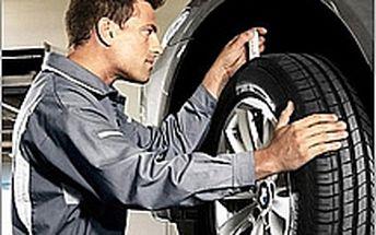 Přezutí pneu, diagnostika