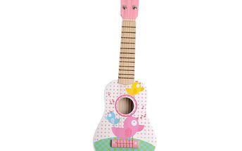 Dřevěná kytara pro holčičky