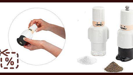 Slánka a mlýnek na pepř BALVI The Cook