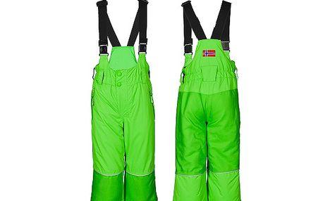 Zelené zimní kalhoty Telemark