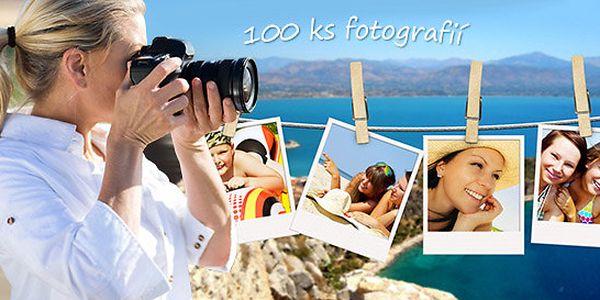 Profi zhotovení 100 fotek formátu 10x15 cm