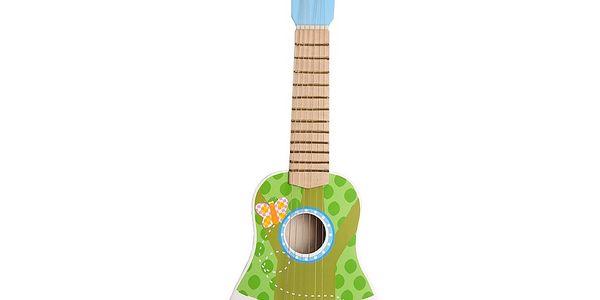 Dřevěná kytara pro kluky