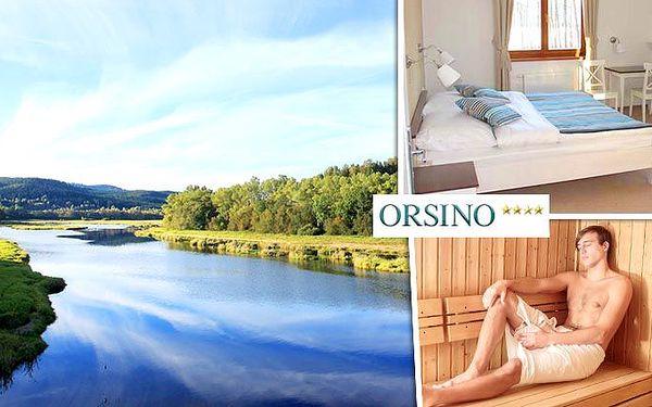 3 nebo 4 dny wellness relaxace v hotelu Orsino**** na Lipensku pro 1 osobu