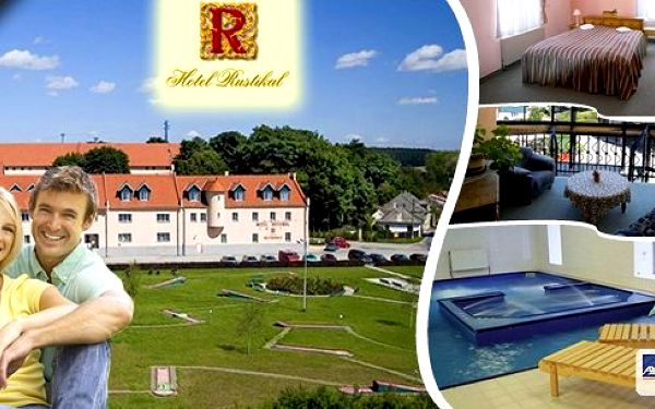 Luxusní letní pobyt na 3 nebo 6 dní pro dvav čtyřhvězdičkovém hotelu Rustikal s polopenzí, minigolfem, volným vstupem do fitness a 50% slevou do krytého bazénu uprostřed krásné přírody na rozhraní krajů Vysočina a Jižní Čechy.
