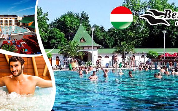 Týden v maďarských termálních lázních Harkány
