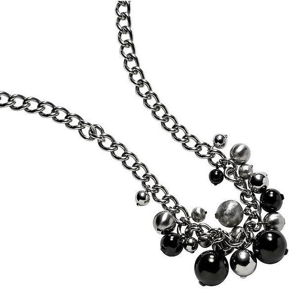 Dámský náhrdelník s kuličkovými přívěsky DKNY