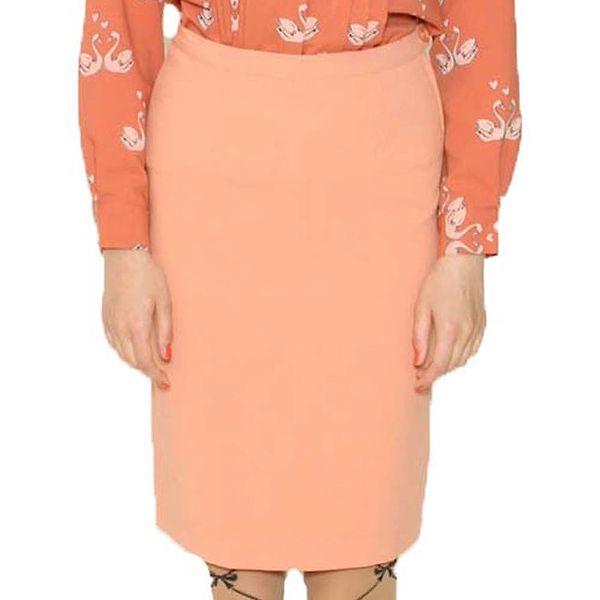 Dámská meruňková pouzdrová sukně Pepa Loves