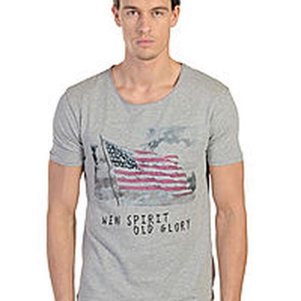 Selected - prodyšné pánské tričko pohodlného střihu