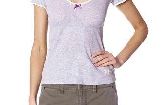 Lehké bavlněné tričko - lite grey 391