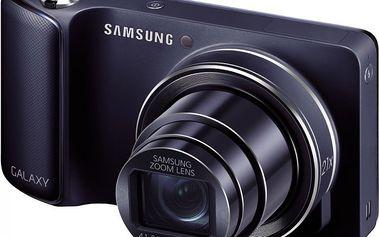 Digitální fotoaparát Samsung Galaxy Camera GC100 Black se systémem Android 4.1. Jelly Bean