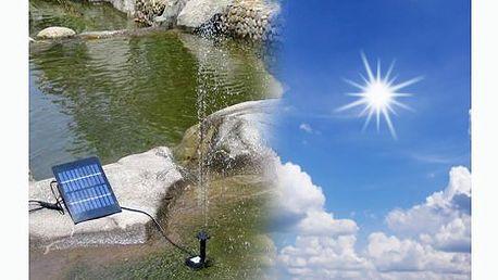 Solární vodní fontána vhodná pro všechny bazénky a rybníky za pouhých 649 Kč včetně poštovného! Šetřete elektrickou enegrií a tím i svou kapsu.