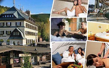 LAST MINUTE - Jarní dovolená v luxusním hotelu Praha****s neomezeným vstupem do Spa&Relax se 3 druhy saun, vířivkou a bazénem; dále snídaně, welcome drink, zapůjčení županu a kulečník po dobu pobytu zdarma, k tomu slevy na jídlo a relaxaci.