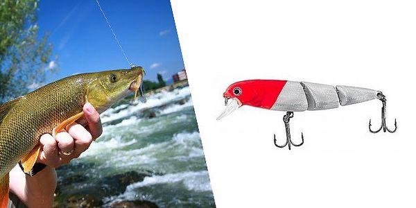 Trojdielny plávajúce voblery FISHING PRE CUSTOM RDST3 v dĺžke 75 mm pre lov dravcov!