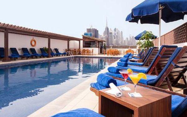 Spojené arabské emiráty, oblast Dubai, snídaně, ubytování v 3* hotelu na 8 dní