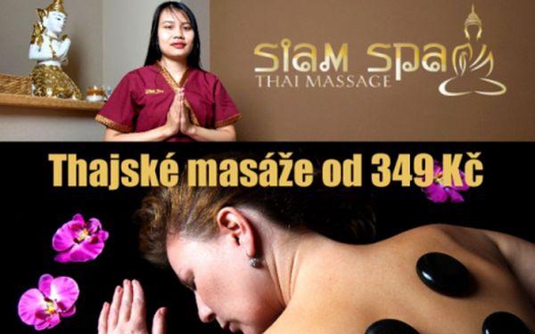 Pravé thajské masáže v SIAM SPA na Náměstí Republiky! 60/90/120 min. masáží dle výběru vč. dvou masérek najednou! Rodilé zkušené thajky a perfektní lokalita v samém centru Prahy!!