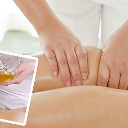 Jarní úklid v těle - Reflexní masáž chodidel, lymfatická masáž nohou+medová masáž zad