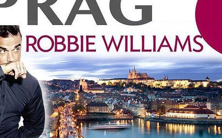 Vstupenky na koncert Robbieho Wiliamse v O2 aréně