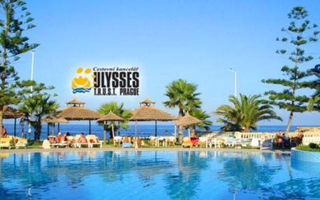 ALL INCLUSIVE 4* Tunisko, LETECKY, vČERVENCI jen za 11.990 Kč! Oblíbený hotel**** u pláže vtropické zahradě splaveckým bazénem a dětským bazénem s tobogány!