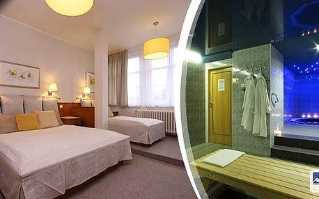 Relaxační wellness pobyt pro 2 osoby ve 4* hotelu Sněžka Špindlerův Mlýn na 3 dny. Bufetové snídaně, vydatné večeře, navíc privátní vstup do hotelového Spa&Relax centra. Krásy Krkonoš na dosah, cyklostezky, pěší turistika, výlety!