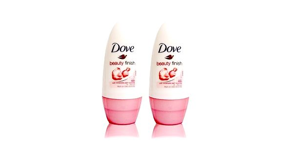2xDove deo roll-on Beauty Finish 50ml