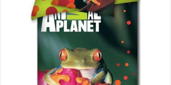 Tip Trade bavlna povlečení Animal planet žába 140x200 70x9