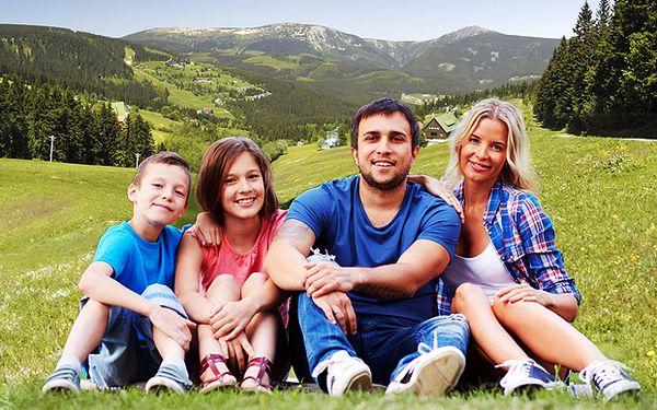 3-denní dovolená s polopenzí - 2 děti do 12 let ZDARMA
