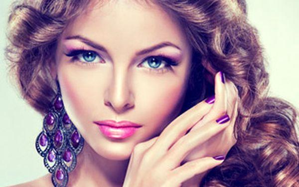 """Permanentní prodloužení řas šetrnou metodou """"řasa na řasu"""" nebo 2 doplnění luxusní značkou Perfect Silk Lashes™."""