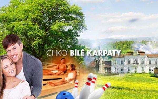 Třídenní pobyt na Valašsku, v CHKO Bílé Karpaty!! 3 DNY pro 2 osoby včetně POLOPENZE, ovocné mísy a BOWLINGU nebo KOSMETIKY od 1890 Kč! Odreagujte se v malebném prostředí! Platnost voucheru do 8/2014!