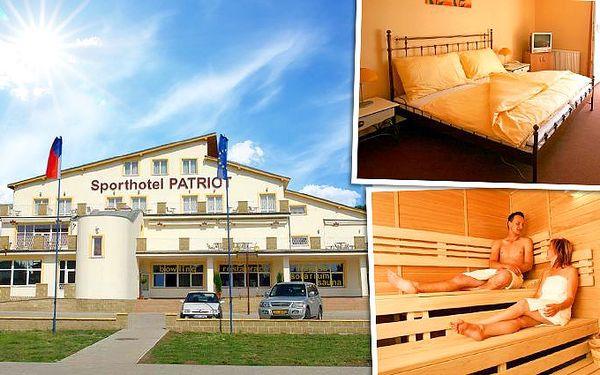 3denní romantický wellness pobyt v hotelu Patriot**** nedaleko Litoměřic pro 2
