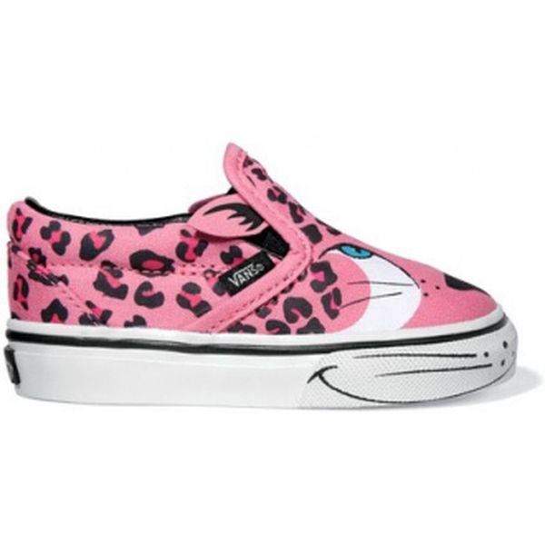 Dětská volnočasová obuv Vans Classic Slip-On kid pink/white