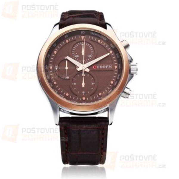 Pánské stylové hodinky Curren a poštovné ZDARMA! - 10209176
