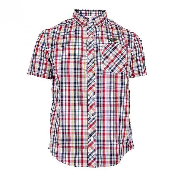 Pánská barevně kostkovaná košile Varsity Team Players