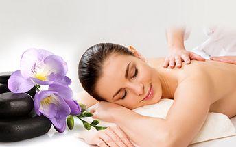 Jarní HODINOVÝ KOKTEJL MASÁŽÍ za 269 Kč! Vyberte si REGENERAČNÍ MASÁŽ zad s havajskou masáží lávovými kameny a akupresurní masáží nebo ANTISTRESOVOU masáž zad s indickou masáží, termomasáží rukou a zábalem! Sleva 54%!