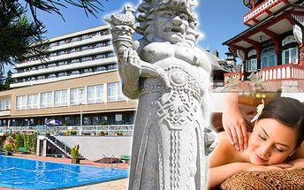 Bohatý relax v Beskydech pro dva s polopenzí, bazénem a léčivým wellness