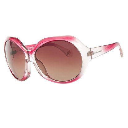 Dámské růžové transparentní sluneční brýle Michael Kors