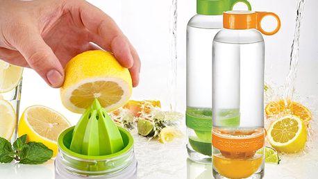 Lahev citruszinger na výrobu citronád