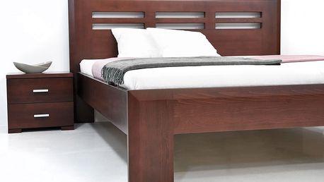 GWdesign Noční stolek Salma 50 - buk Moření buk: B6, Úchyty: Úchyt - kód 12438, Typ pojezdu: Tip-on