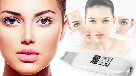 Ultrazvuková kosmetická čistící špachtle