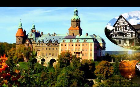 """Návštěva tajného SÍDLA ADOLFA HITLERA a polského VERSAILLES, se slevou 40 %: 1denní POZNÁVACÍ ZÁJEZD po stopách tajuplných míst III. říše a krás Dolního Slezska – zámek KSIAZ u Walbrzychu, historické město Świdnica s """"kostelem míru"""" a mnoho dalšího."""
