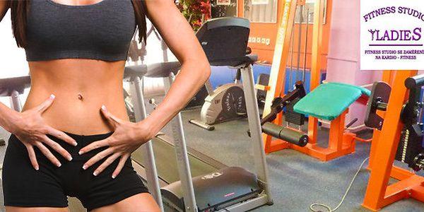 Měsíční neomezený vstup do Ladies Fitness Studia